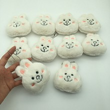 4inches LINE Bunny Cony anime plush dolls set(10pc...