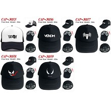 Venom movie cap sun hat
