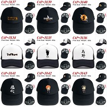 Haikyuu anime cap sun hat