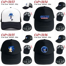 Sonic The Hedgehog game cap sun hat