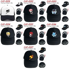 Fairy Tail anime cap sun hat